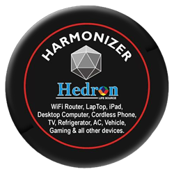 HEDRON HARMONIZER FOR LARGER ELECTRONIC DEVICES